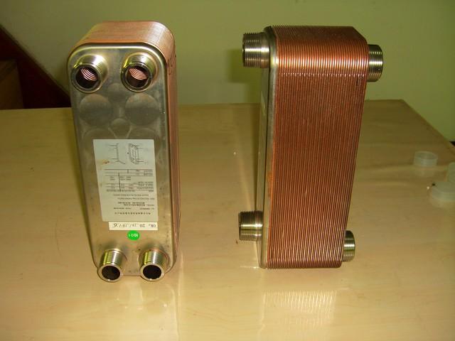 钎焊换热器8