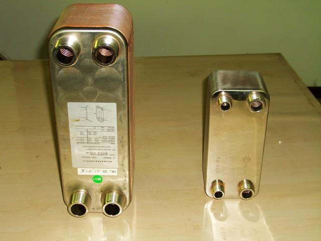 钎焊换热器7